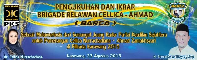 Pengukuhan BARCA (Brigade Relawan Cellica-Ahmad)