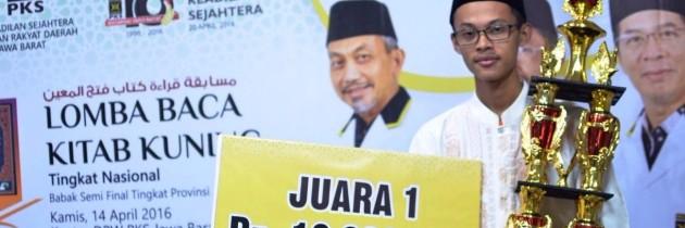 Kabupaten Tasik Wakili Jabar Maju ke Babak Final Lomba Baca Kitab Kuning