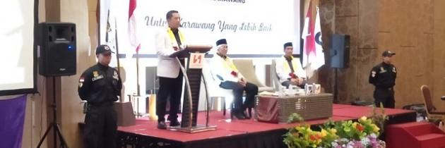 Haji Aep Siap Selesaikan Permasalahan Tenaga Kerja di Karawang