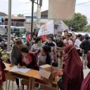 Walaupun Rumah Terendam Banjir, Ketua DPC PKS Telukjambe Timur Tetap Semangat Melayani Masyarakat